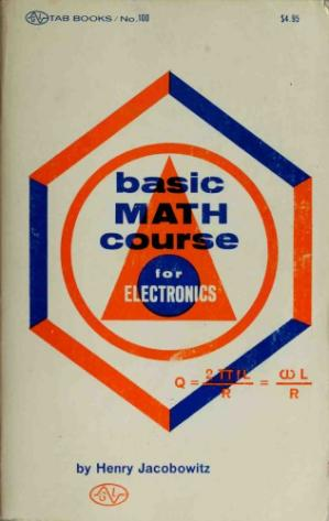 Book cover Basic Math Course for Electronics