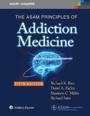 Bìa sách The Asam Principles of Addiction Medicine