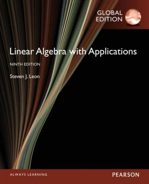 Book cover Linear Algebra with Applications