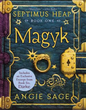 Book cover Septimus Heap, Book One: Magyk Free with Bonus Material