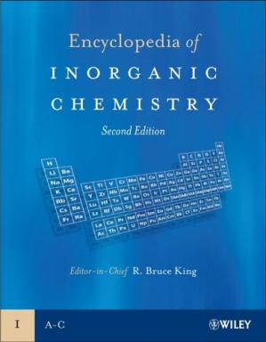 పుస్తక అట్ట Encyclopedia of Inorganic Chemistry [10 Volumes]