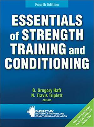 Portada del libro Essentials of Strength Training and Conditioning 4th Edition