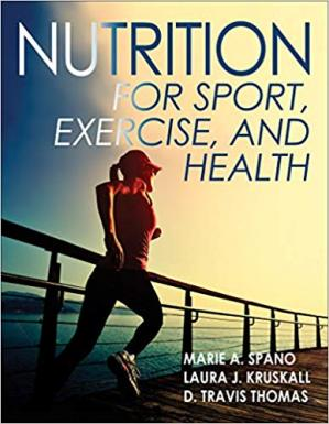 Обкладинка книги Nutrition for Sport, Exercise, and Health