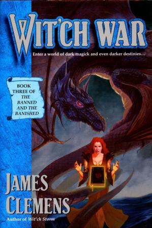 Book cover Wit'ch War (James Clemens)