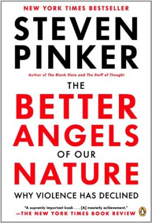 Book cover The Better Angels of Our Nature: Why Violence Has Declined