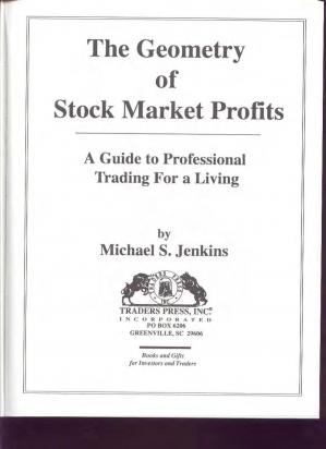Book cover The Geometry of Stock Market Profits. A Guide to Professional Trading for a Living