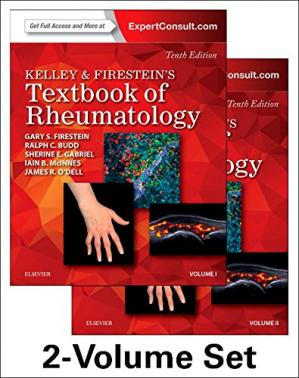 Обкладинка книги Kelley and Firestein's Textbook of Rheumatology