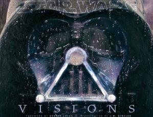 Book cover Star Wars Art: Visions