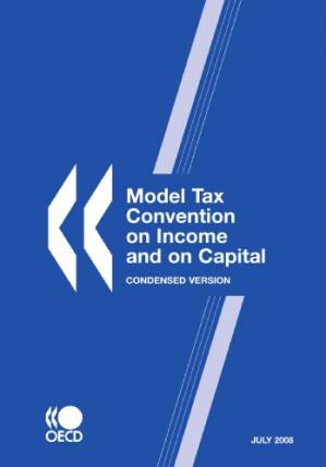 Copertina Model Tax Convention on Income and on Capital: Condensed Version - July 2008 (Model Tax Convention on Income and on Capital)