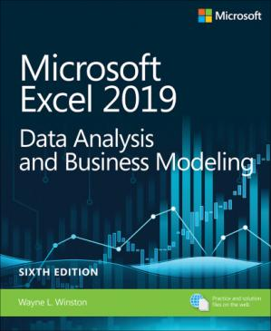 Book cover Microsoft Excel 2019 Data Analysis and Business Modeling