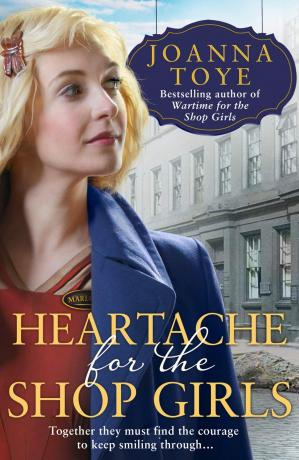 Book cover Heartache for the Shop Girls (The Shop Girls, Book 3)