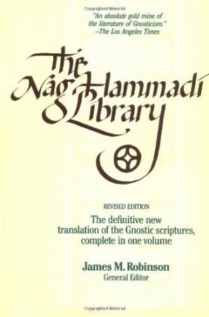 Book cover Nag Hammadi Library in English: The Definitive Translation of the Gnostic Scriptures. Complete in One Volume