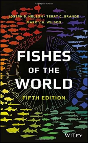 Copertina Fishes of the World