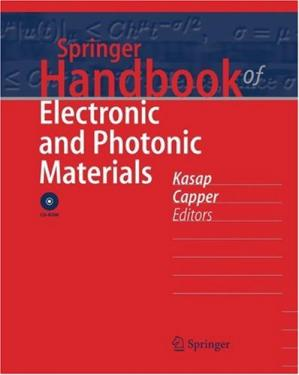 Book cover Springer Handbook of Electronic and Photonic Materials
