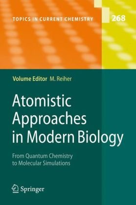 पुस्तक कवर Atomistic approaches in modern biology: from quantum chemistry to molecular simulations