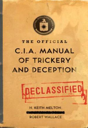 Sampul buku The official CIA manual of trickery and deception
