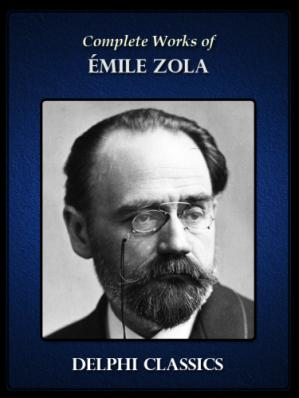 Book cover Emile Zola - Complete Works