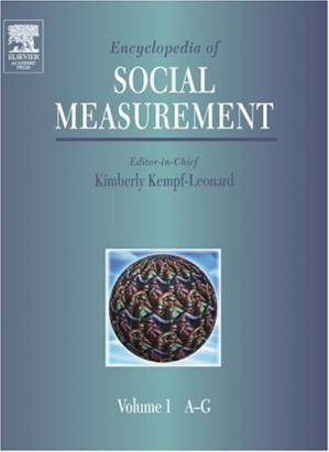 Book cover Encyclopedia of Social Measurement, Three-Volume Set