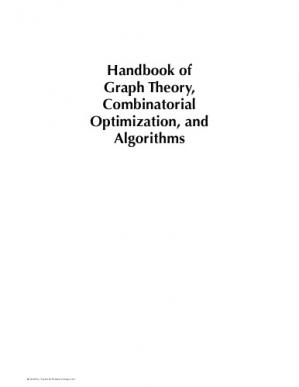 Book cover Handbook of graph theory, combinatorial optimization, and algorithms