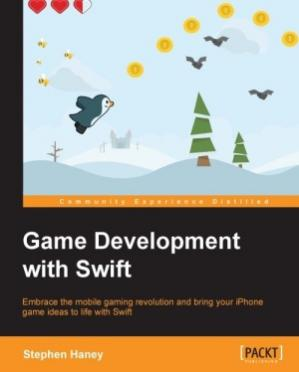 Book cover Game Development with Swift