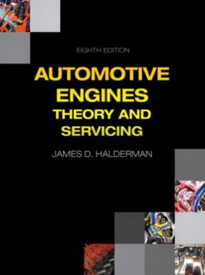 Book cover Automotive Engines  Theory and Servicing