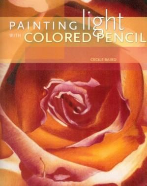 Book cover Painting Light with Colored Pencil