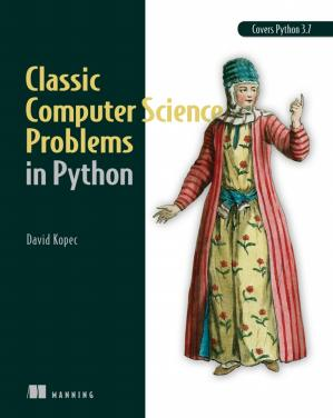 A capa do livro Classic Computer Science Problems in Python