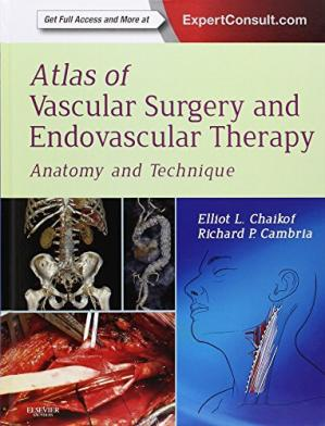 Book cover Atlas of Vascular Surgery and Endovascular Therapy: Anatomy and Technique