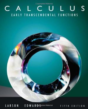 Book cover Calculus: Early Transcendental Functions, 5th Edition