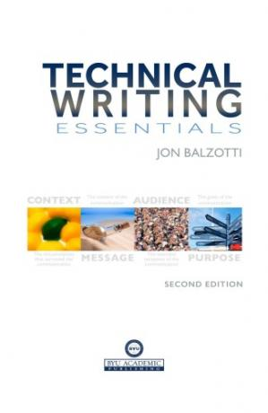 Book cover Technical Writing Essentials