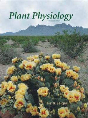 Book cover Plant Physiology