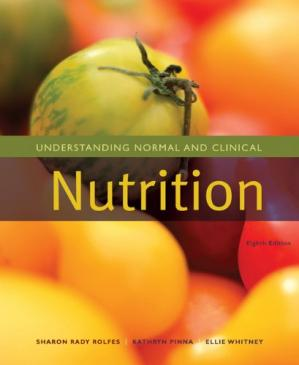 पुस्तक कवर Understanding Normal and Clinical Nutrition, 8th Edition