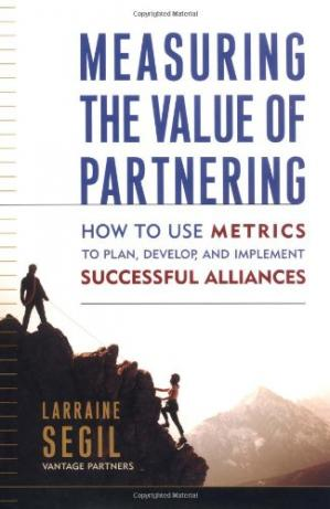 Portada del libro Measuring the Value of Partnering: How to Use Metrics to Plan, Develop, and Implement Successful Alliances