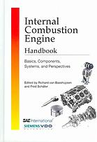 Book cover Internal combustion engine handbook : basics, components, systems, and perspectives