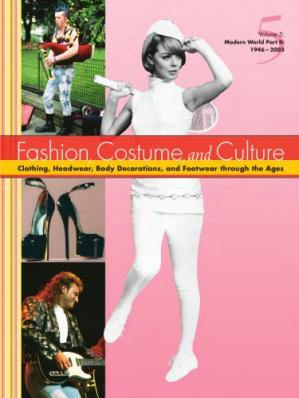 Book cover Fashion, Costume and Culture / Vol.1-5. Modern World 1946 to 2003