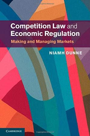 Buchdeckel Competition Law and Economic Regulation: Making and Managing Markets