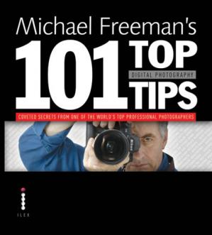 Book cover Michael Freeman's 101 top digital photography tips