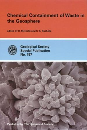 Copertina Chemical containment of waste in the geosphere
