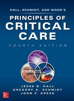غلاف الكتاب Principles of Critical Care