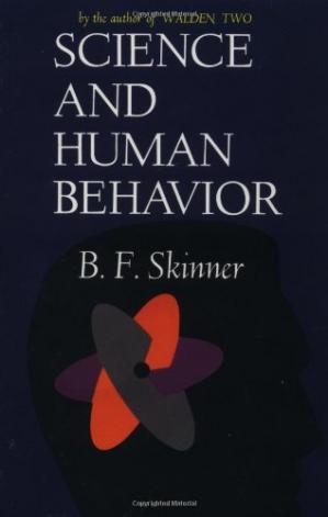 Book cover Science And Human Behavior