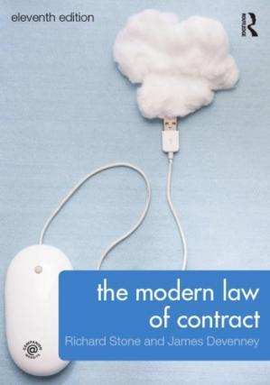 Book cover The Modern Law of Contract