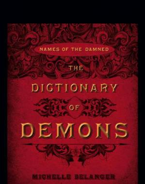 Book cover The dictionary of demons: names of the damned