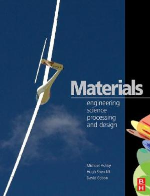 Copertina Materials Engineering. Science, Processing and Design