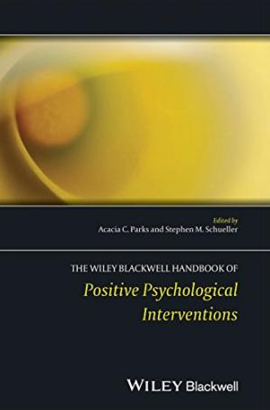 Copertina The Wiley-Blackwell Handbook of Positive Psychological Interventions