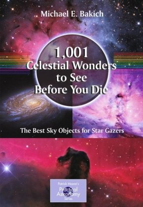 Sampul buku 1,001 Celestial Wonders to See Before You Die: The Best Sky Objects for Star Gazers