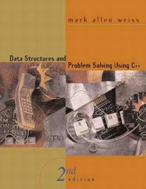 Book cover Data Structures and Problem Solving Using C++