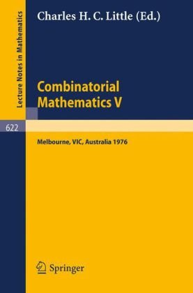Bìa sách Combinatorial Mathematics V