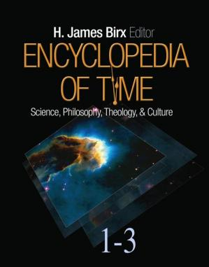 Kulit buku Encyclopedia of Time: Science, Philosophy, Theology, & Culture