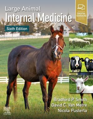 पुस्तक कवर Large Animal Internal Medicine, 6th Edition