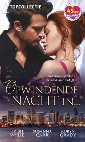 Book cover Opwindende nacht in…